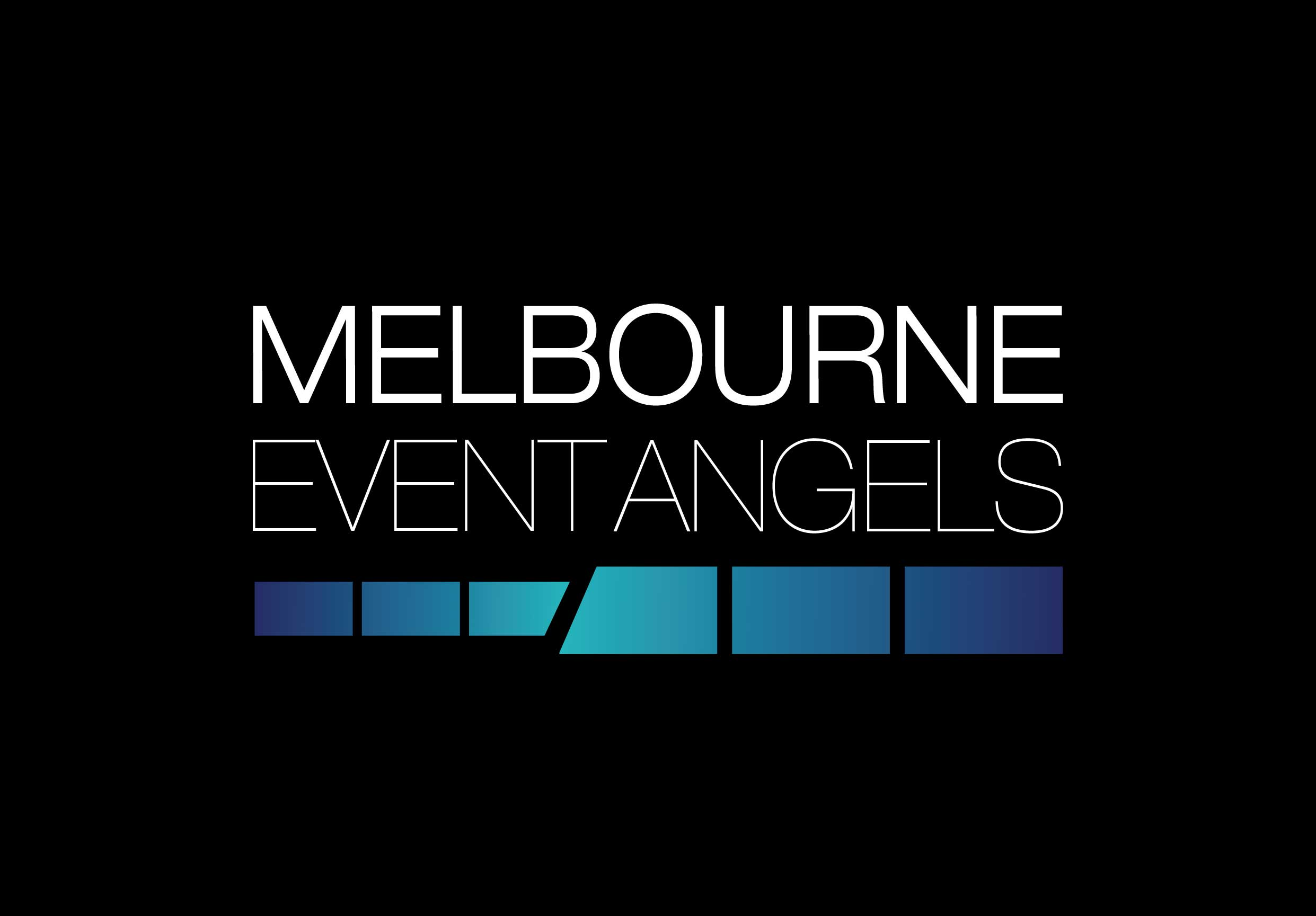 Melbourne-Event-Angels-BLACK-BG-WHITE-TXT-logo