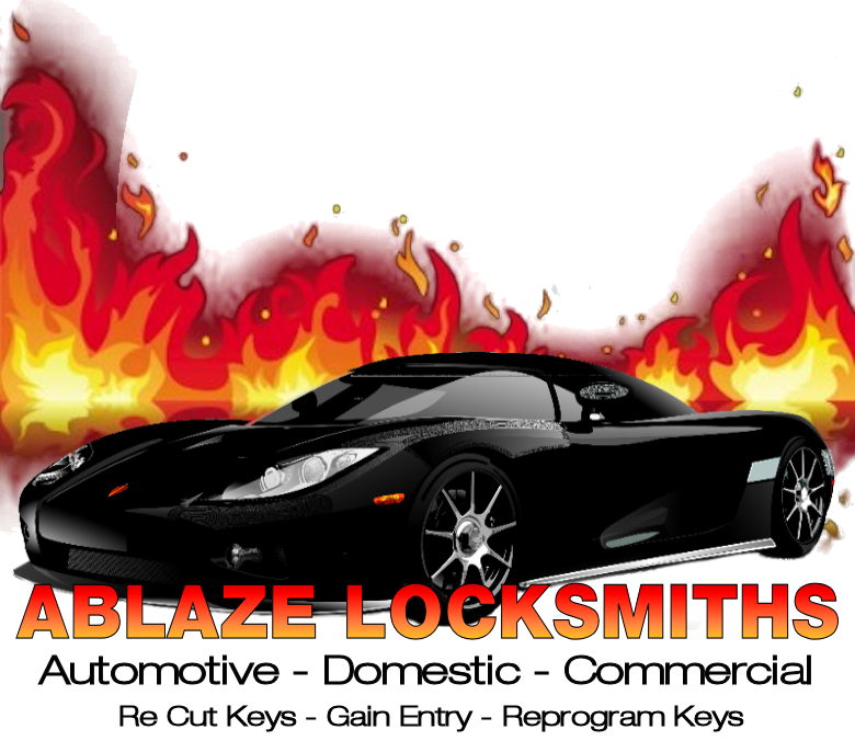 Ablaze Locksmiths Logo