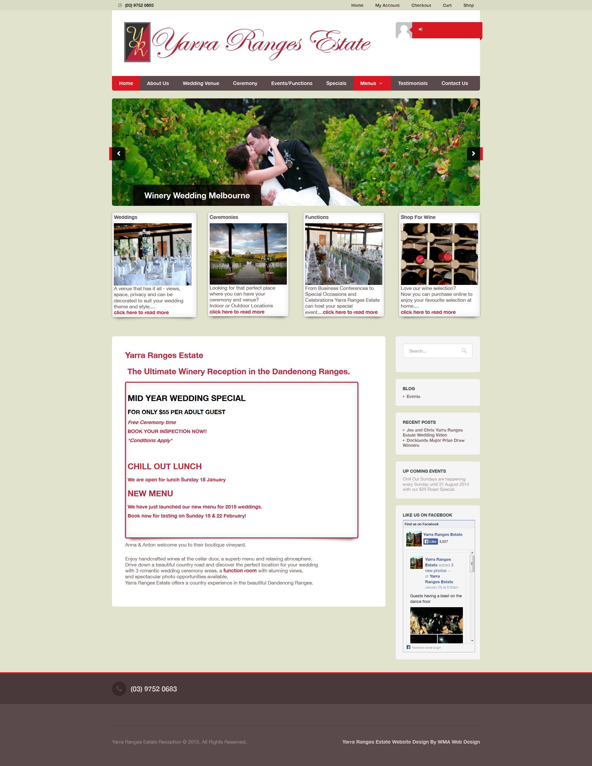 Yarra Valley Website Design Yarra Ranges Estate Website Design
