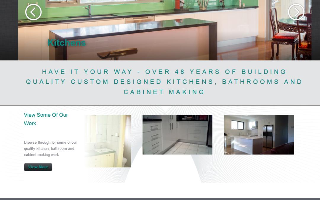 Quality Kitchens Mornington Kitchen Renovations Website Design Website Design Internet